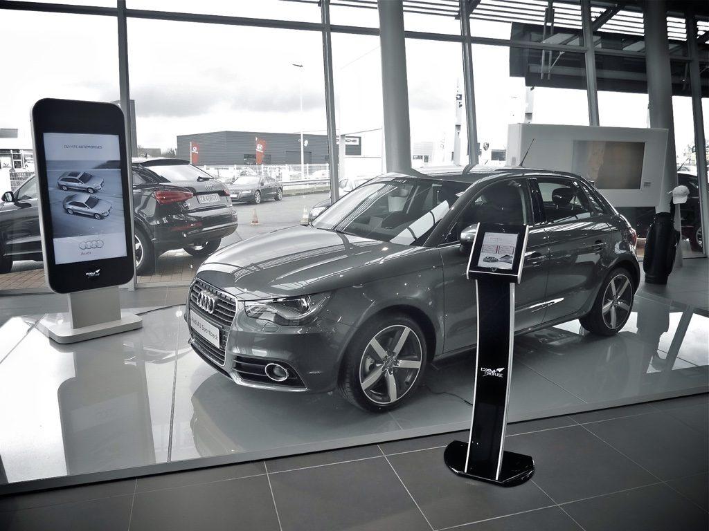 Audi Borne iPad - DXM Profuse