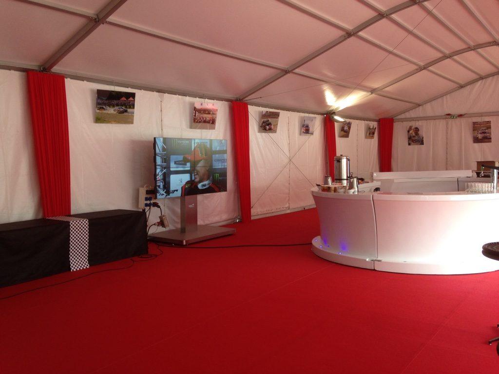 Rally Cross Lohéac - Mur 4 écrans - DXM Profuse